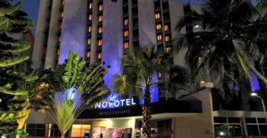 Novotel Dakar hotel in Senegal.