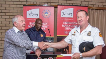 Redefine recognises the efforts of Johannesburg emergency services