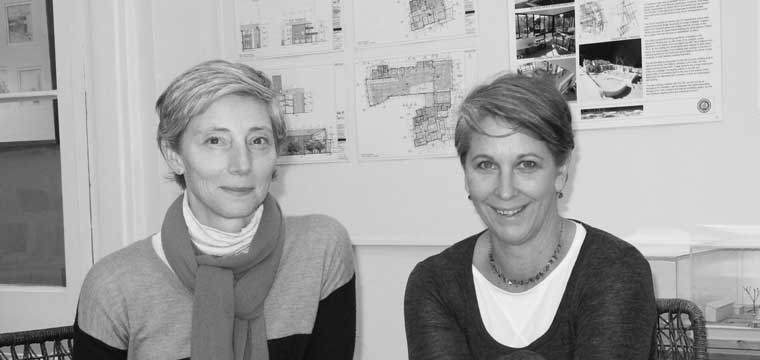 Nicola Irving and Charlotte Chamberlain, CCNIA Architects