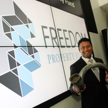 Tyrone Govender, CEO of Freedom