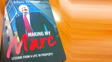 Renowned SA real estate dealmaker Marc Wainer shares lessons from a life in property in his new book, Making My Marc