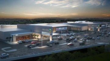 An artist's impression showing part of the R1.4 billion Ballito Junction regional shopping centre set to be developed by the Menlyn Maine and Flanagan & Gerard consortium in the KZN North Coast town.