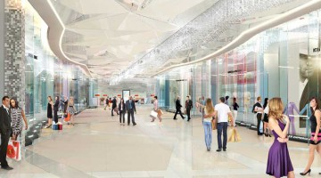 An artist's impression of Sandton City's striking new Diamond Walk, set to open to the public on 30 April 2015 and boast a brilliant new clutch of international super-luxury brands. Diamond Walk – a R185 million redevelopment project - reinforces Sandton City as Africa's definitive luxury and super-luxury retail destination.