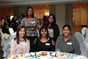 Top: Elisha Kisten and Kaloana Ramsamy [JHI]. Seated: Nishtha Sanichur, Eshara NAIDOO AND Rubecca Khan [JHI]