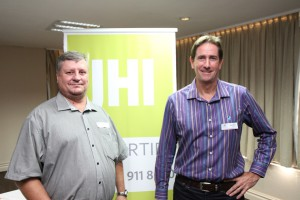 Chris Wheeler [Interpark] and Peter Tillard [JHI]