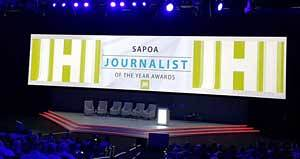 sapoa journalism awards 2015