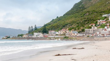 Beach at Muizenberg