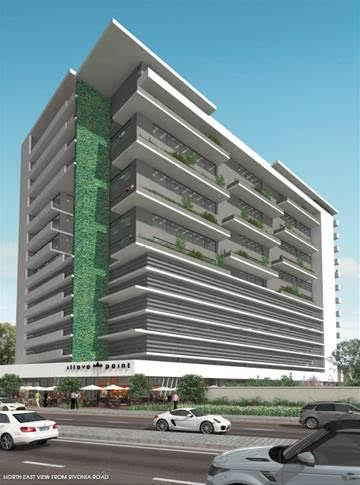 Render of the Illovo Point development. Image source: FWJK