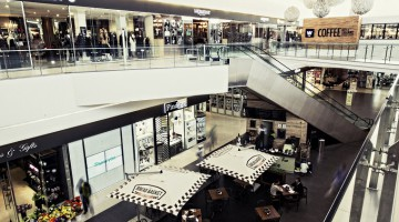 An interior view of Morningside Shopping Centre