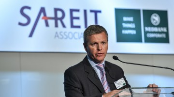 Mark Stevens, SA REIT Association Marketing Committee Chairman, speaking at the last SA REIT Conference in 2014