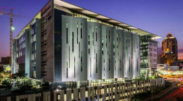 screengrabs of last year's winning projects for Alexander Forbes building in Sandton