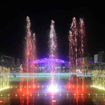 Mall of Africa fountains