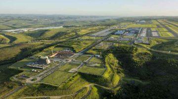 Dube TradePort - Aerial of Precinct