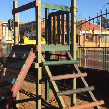 Jungle Gym donated by Broll Property Group