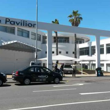 V&A Waterfront Pavilion Before
