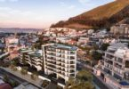 An exterior view of Alpha One on Cape Town's Atlantic Seaboard.