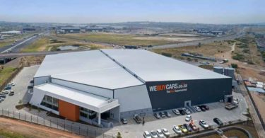 The recently opened WeBuyCars showroom situated in Brakenfell, a northern suburb of Cape Town.