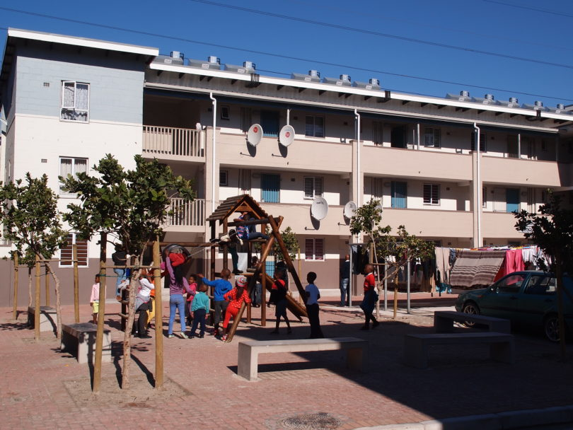 Hamilton Naki Square in Langa.