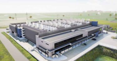 An artist's rendition of Teraco Cape Town 2 (CT2), a new 30MW data centre facility.