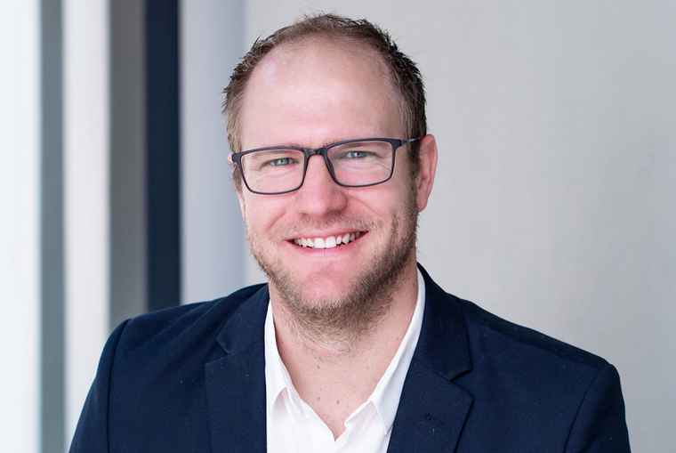 Struxit executive, Chris Truter.