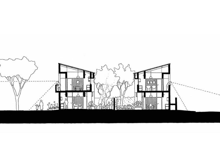 © Stadium / Wolff Architects