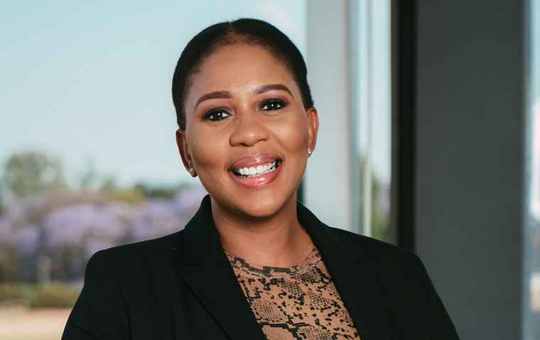SAIBPP Women's Forum President, Fundi Mazibuko