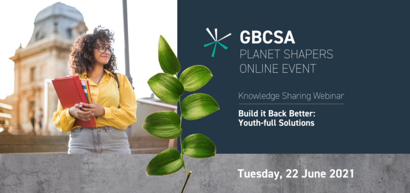 GBCSA Build it Back Better Youthful So