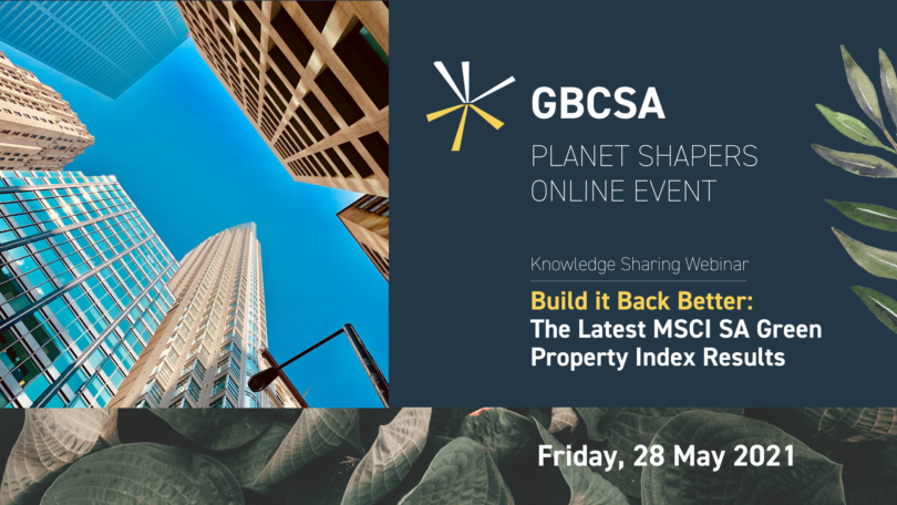 GBCSA Webinar 28th May 2021