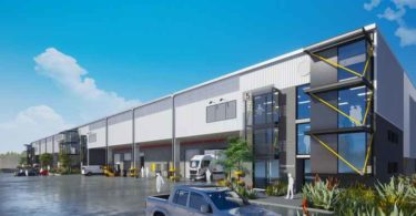 A perspective of Growthpoint's three phase Millroad Industrial Park in Cape Town.
