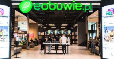 eobuwie.pl, a market leader in online footwear and accessories operating in Galeria Młociny, Warsaw