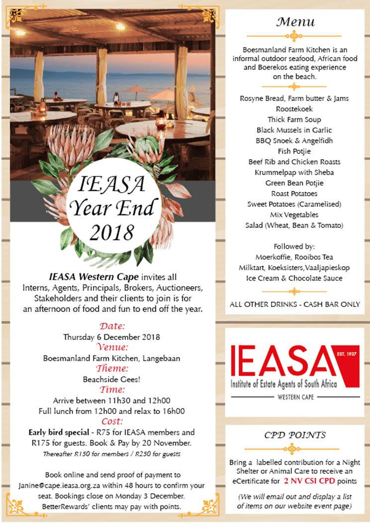 IEASA Year End 2018
