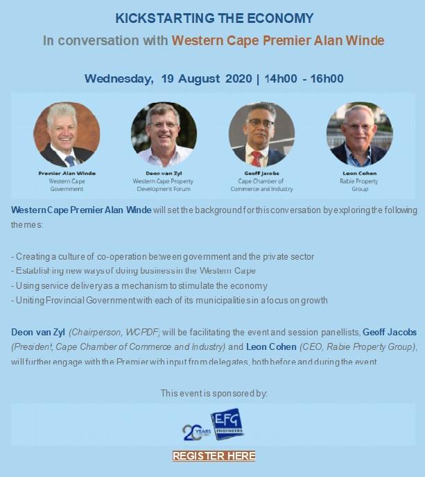 """WCPDF Announces Virtual """"In Conversation"""" Series"""