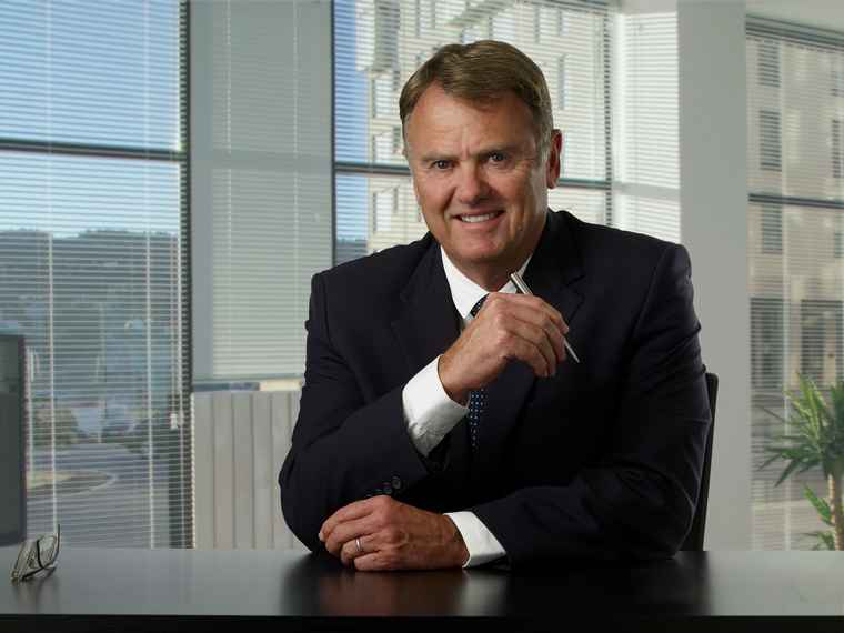 Mike Greeff, CEO of Greeff Christie's International Real Estate.