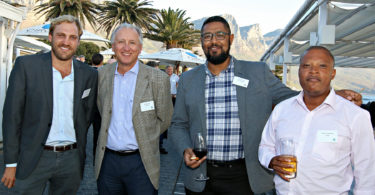 Chesney Boshoff (CPOA), Michael Zipp (CPOA), Howard Fisher (DNL Properties), Xolani Phukwana (CPOA)