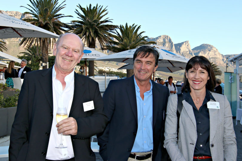 Steven Wright (De Leeuw), Michael Hodges (Nedbank CIB), Jane Downing (Nedbank Wealth)