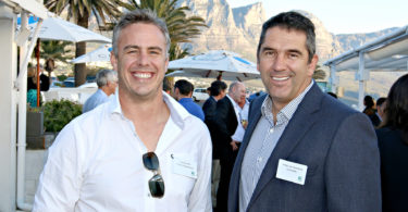 Werner Wirth (Koelpark Developments), Antoin van Rensburg (Campus Key)