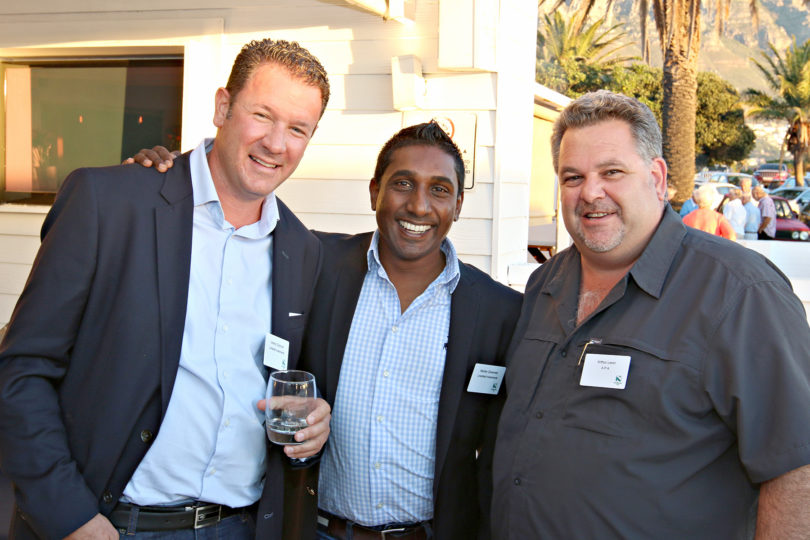 Jeremy Diamond (Linksfield Investments), Marten Govender (Linksfield Investments), Arthur Levin (APA)