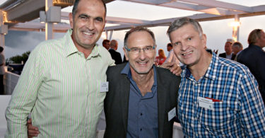 Tony Boles (Boles and Associates), Jan Terblanche (Nedbank CIB), Henrico Knoesen (Betterland Developments Trust)