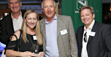 Robin Lockhart-Ross (Nedbank CIB), Lynn Pereira (Nedbank CIB), Michael Zipp (CPOA), Richard Mulholland (Nedbank Private Wealth)