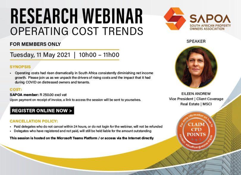 Operating Costs Trends Webinar