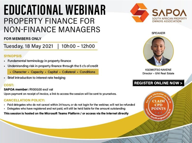 Property Finance for Non-Finance Managers