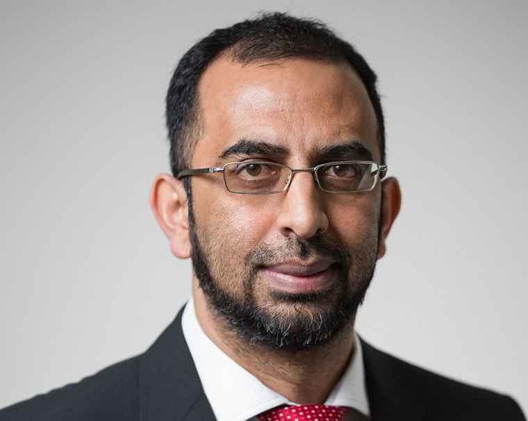 Ridwaan Asmal, Financial Director of Dipula Property Fund.