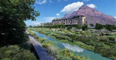An artist's impression of the proposed River Club redevelopment project (source: https://theriverclubct.co.za/)