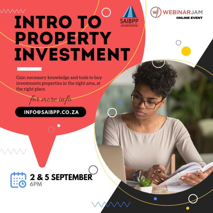 SAIBPP Intro to Prop Investment