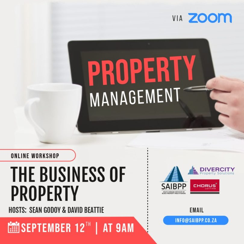 SAIBPP The Business of Property Workshop