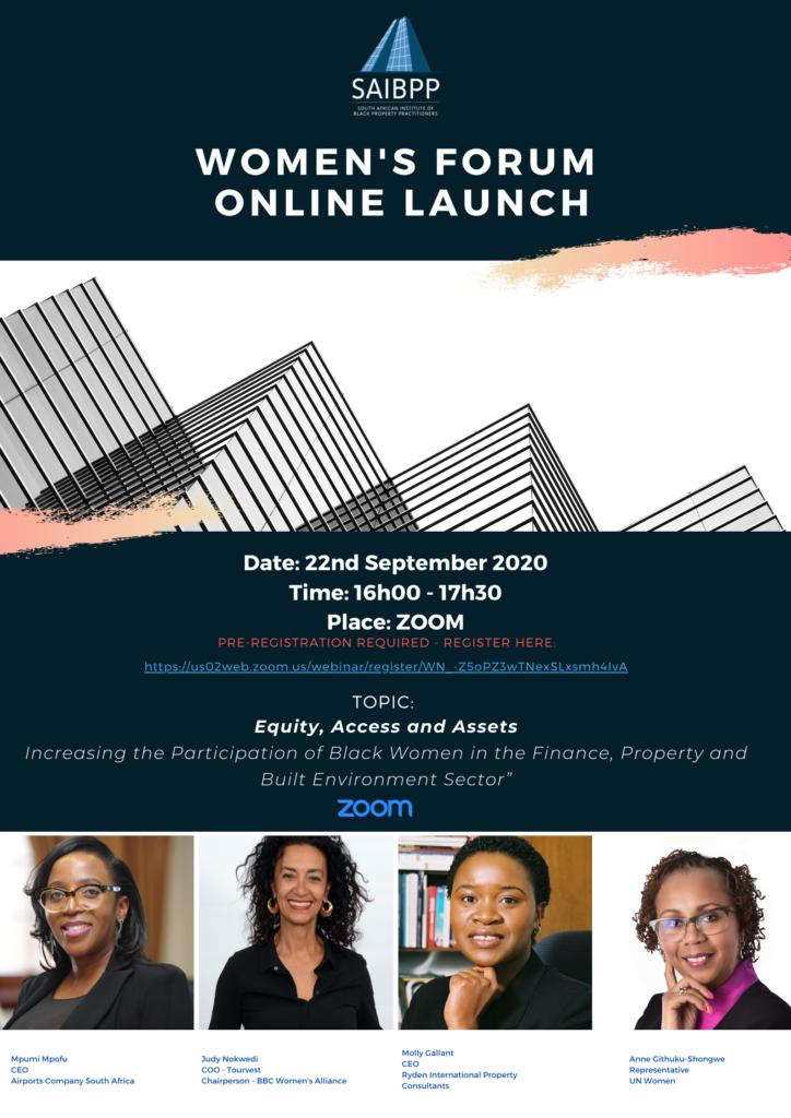 SAIBPP Womens Forum Launch