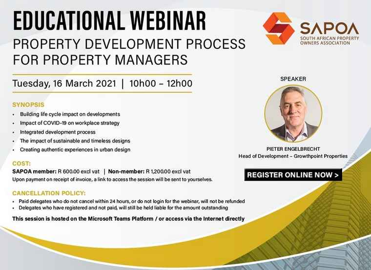 SAPOA Educational Web Prop Develop Process