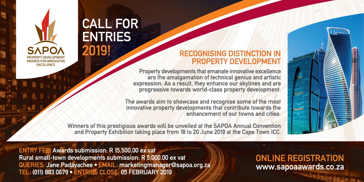 SAPOA Property Development Awards for Innovative Excellence 2019