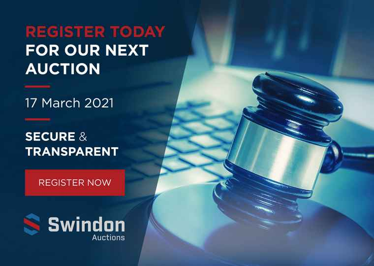 Swindon Online Auction 17th of March 2021