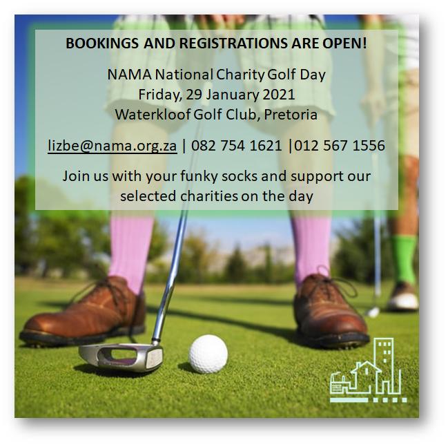 NAMA Charity Golf Day Jan 2021